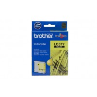 Brother LC57 Yellow Ink Cartridge - 400 pages