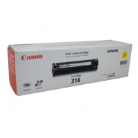 Canon Cart-316 Yellow Toner Cartridge - 1,500 pages