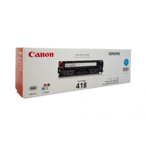 Canon Cart-418 Cyan Toner Cartridge - 2,900 pages