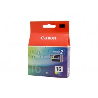 Canon BCI-16C Colour Ink Tank Twin Pack - 100 pages each