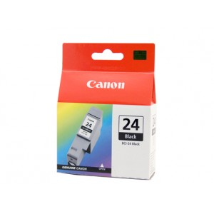 Canon BCI-24BK Black Ink Tank - 130 pages