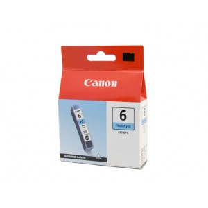 Canon BCI-6PC Photo Cyan Ink Tank - 100 pages