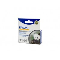 Epson T026 Black Ink Cartridge - 370 pages