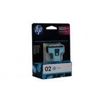 HP 02 Light Cyan Ink Cartridge C8774WA  - 350 pages