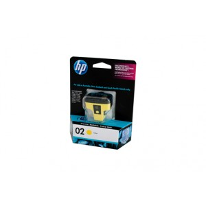 HP 02 Yellow Ink Cartridge C8773WA - 350 pages