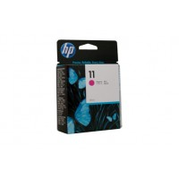 HP 11 Magenta Ink Cartridge (29 ml) C4837A- 1,830 pages