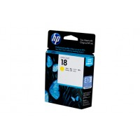HP 18 Yellow Ink Cartridge C4939A - 900 pages
