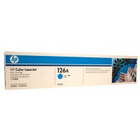 HP 126A CE311A Cyan Toner Cartridge  - 1,000 pages