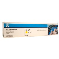 HP 126A CE312A Yellow Toner Cartridge  - 1,000 pages