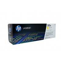 HP 305 CE412A Yellow Toner Cartridge  - 2,600 pages