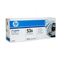 HP 53 Black Toner Cartridge Q7553A - 3,000 pages