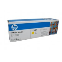 HP 304A CC532A Yellow Toner Cartridge - 2,800 pages