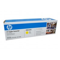 HP 125A CB542A Yellow Toner Cartridge - 1,400 pages