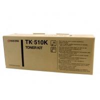 Kyocera TK510K Black Toner Cartridge - 8,000 pages