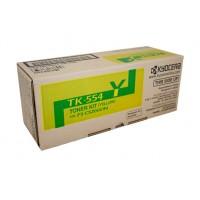 Kyocera TK554Y Yellow Toner Cartridge - 6,000 pages