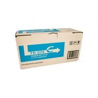 Kyocera TK574C Cyan Toner Cartridge - 12,000 pages