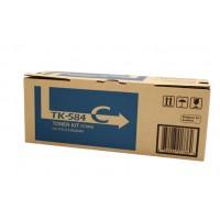 Kyocera TK584C Cyan Toner Cartridge - 2,800 pages