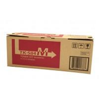 Kyocera TK584M Magenta Toner Cartridge - 2,800 pages