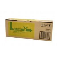 Kyocera TK584Y Yellow Toner Cartridge - 2,800 pages