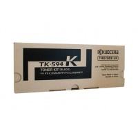 Kyocera TK594K Black Toner Cartridge - 7,000 pages