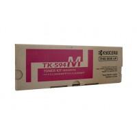 Kyocera TK594M Magenta Toner Cartridge - 5,000 pages