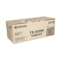 Kyocera TK820M Magenta Toner Cartridge - 7,000 pages