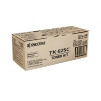 Kyocera TK825C Cyan Toner Cartridge - 7,000 pages