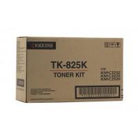 Kyocera TK825K Black Toner Cartridge - 15,000 pages