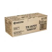 Kyocera TK825Y Yellow Toner Cartridge - 7,000 pages