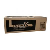 Kyocera TK859K Black Toner Cartridge - 25,000 pages