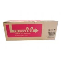 Kyocera TK859M Magenta Toner Cartridge - 18,000 pages