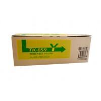 Kyocera TK859Y Yellow Toner Cartridge - 18,000 pages