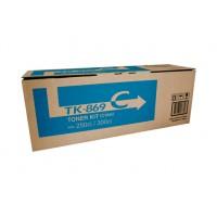 Kyocera TK869C Cyan Toner Cartridge - 12,000 pages