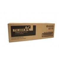Kyocera TK884K Black Toner Cartridge - 25,000 pages