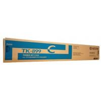 Kyocera TK899C Cyan Toner Cartridge - 6,000 pages