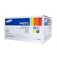 Samsung CLTP407C Rainbow Pack - Refer Individual Colours