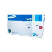 Samsung CLTC409S Cyan Toner - 1,000 pages