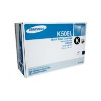 Samsung CLTK508L Black Toner Cartridge - 5,000 pages